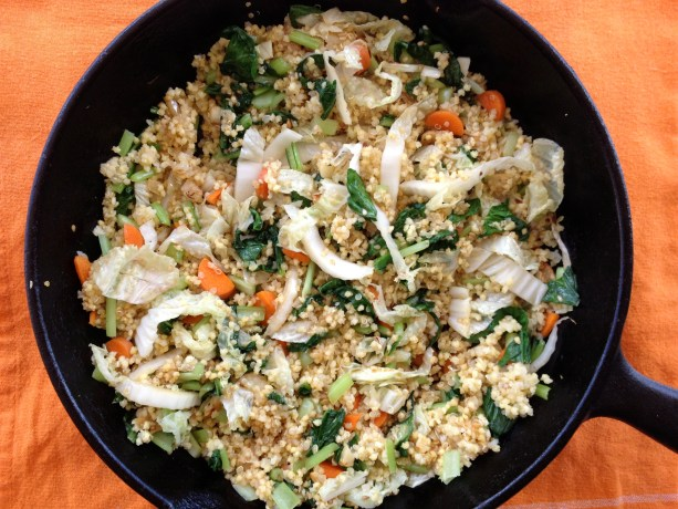 Millet 'Fried Rice' from Vibrant Wellness Journal