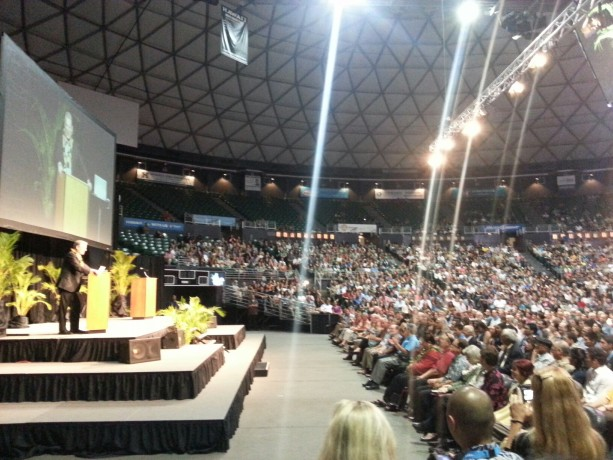 Al Gore at the University of Hawaii