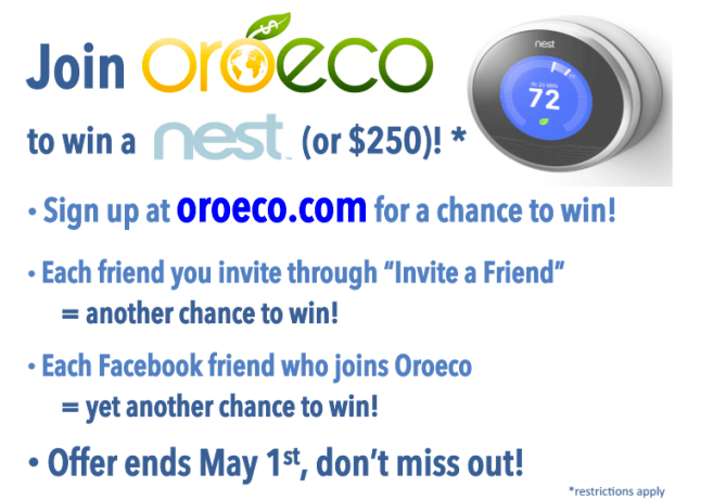 Oroeco Nest competition