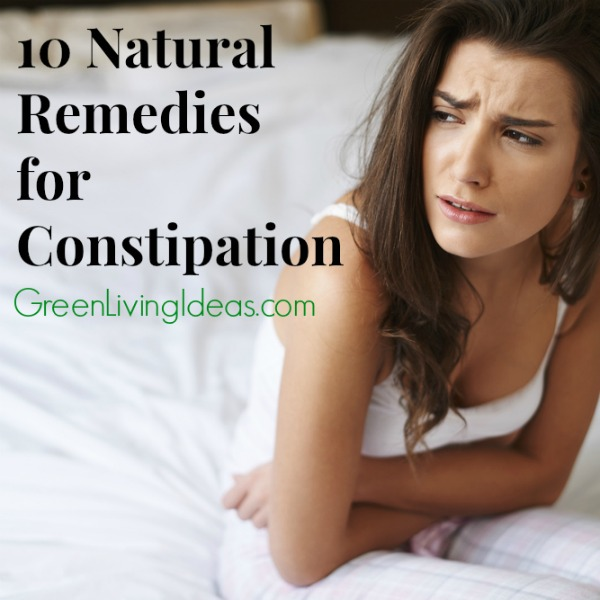10 Natural Remedies  for  Constipation
