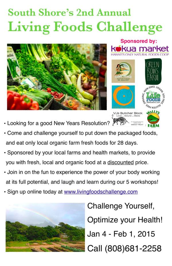 living foods challenge