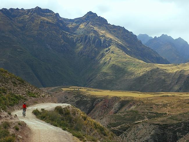 Mountain Biking In The Andes Mountains