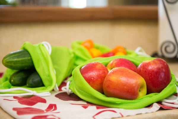 bag again bags, reusable produce bags