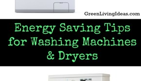 Energy Saving Tips for Washing Machines & Dryers