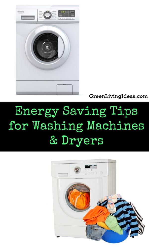 Energy Saving Tips for Washing Machines & Dryers