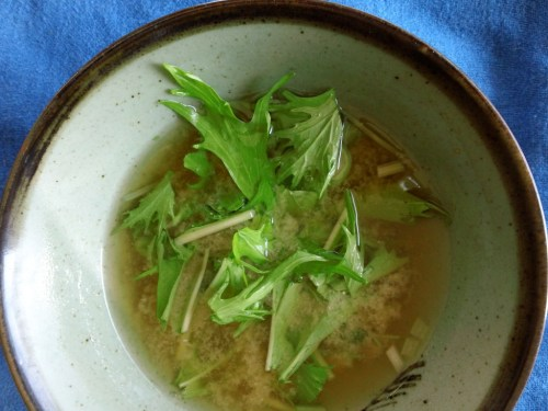 homemade miso soup from Vibrant Wellness Journal