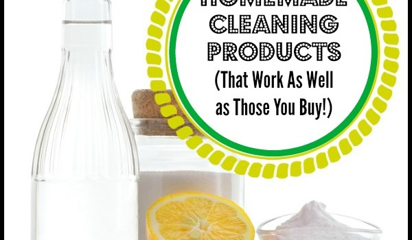 Homemade Cleaning Products That Work As Well as Those You Buy
