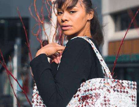 Unique Handbags made from Eco-Friendly Materials