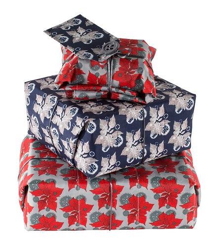New reusable Christmas gift wrap made from 100% waste plastic bottles
