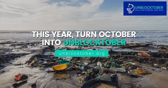 Fighting fatbergs and hidden plastics: Unblocktober, the world's first month-long national campaign to improve the health of our watercourses