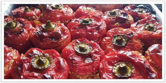 Best Greek stuffed vegetables recipe (vegan)