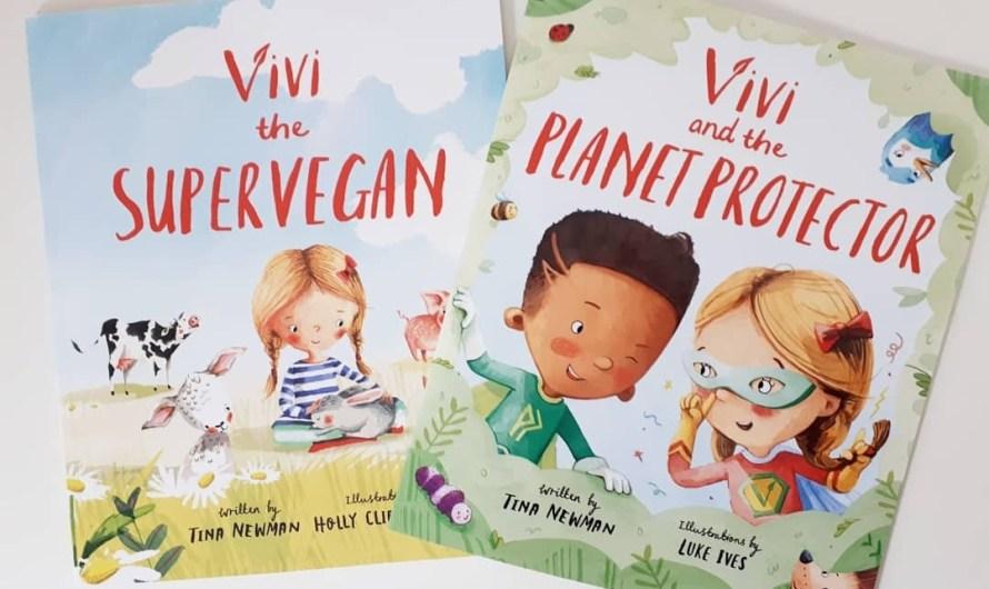"""Vivi the Supervegan"" – the new children's books of kindness series, by Tina Newman"