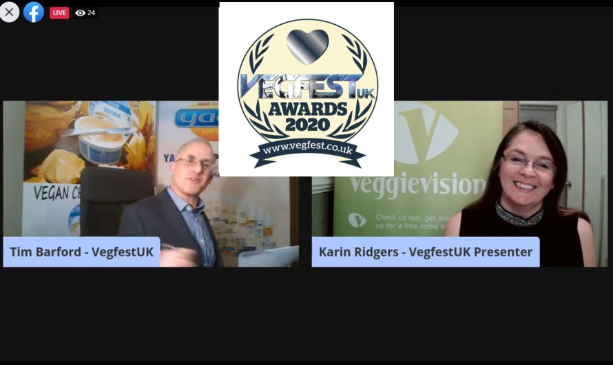 Find out the winners of the VegfestUK 2020 Awards