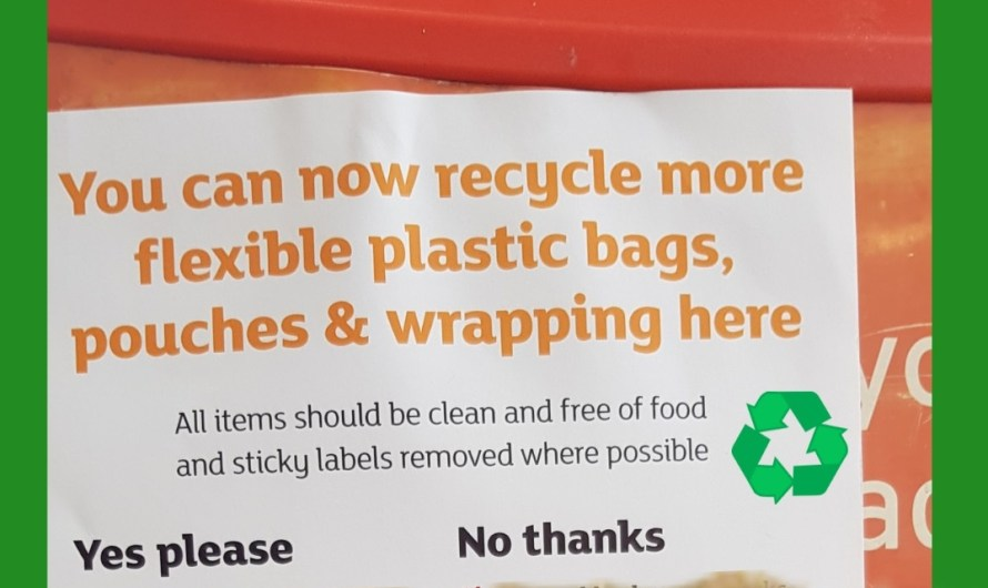 Flexible plastic packaging now accepted for recycling at major supermarkets