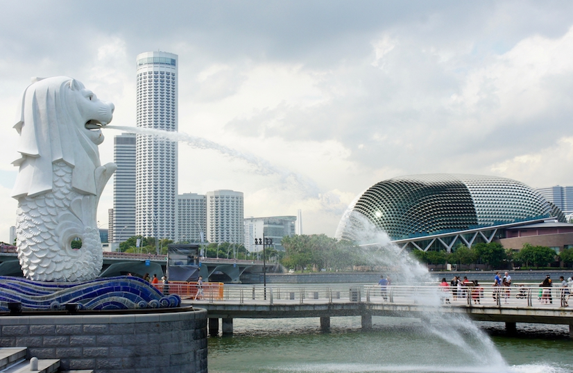 greenlooksgreat Singapur Merlion
