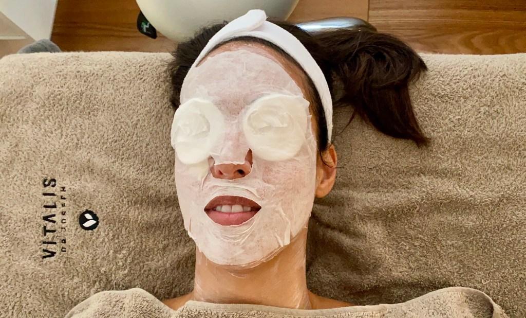 Gesichtsmaske Team dr. Joseph Gesichtsbehandlung mit Schröpfen