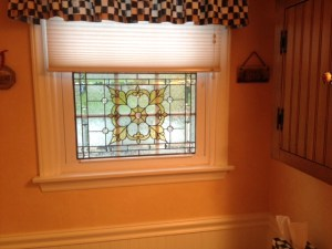 Santangelo Powder Room Window Installed