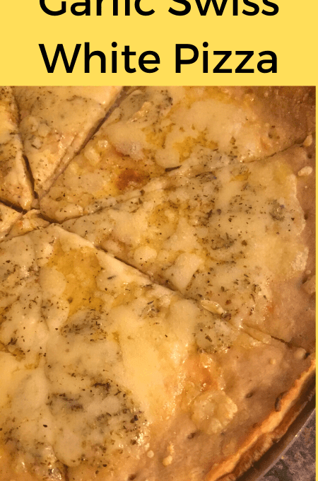 Garlic Swiss White Pizza Recipe