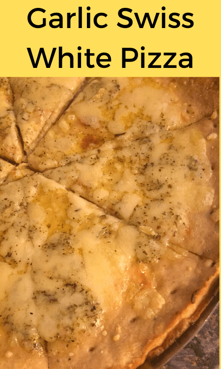 Garlic Swiss White Pizza