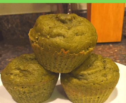 Moringa Kefir Muffins Recipe