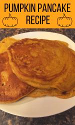 recipe for pumpkin pancakes