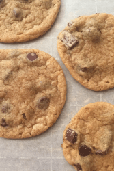 lard chocolate chip cookies