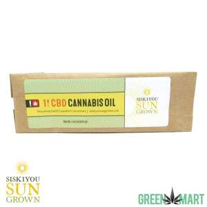 Siskiyou Sungrown CBD Cannabis Oil RSO