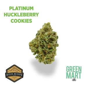 Platinum Huckleberry Cookies by High Winds
