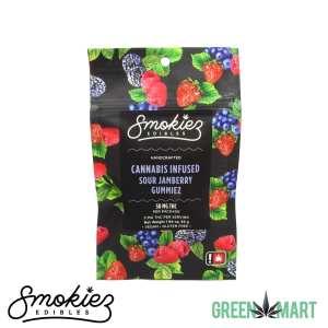 Smokiez Edibles THC Gummies - Sour Jamberry