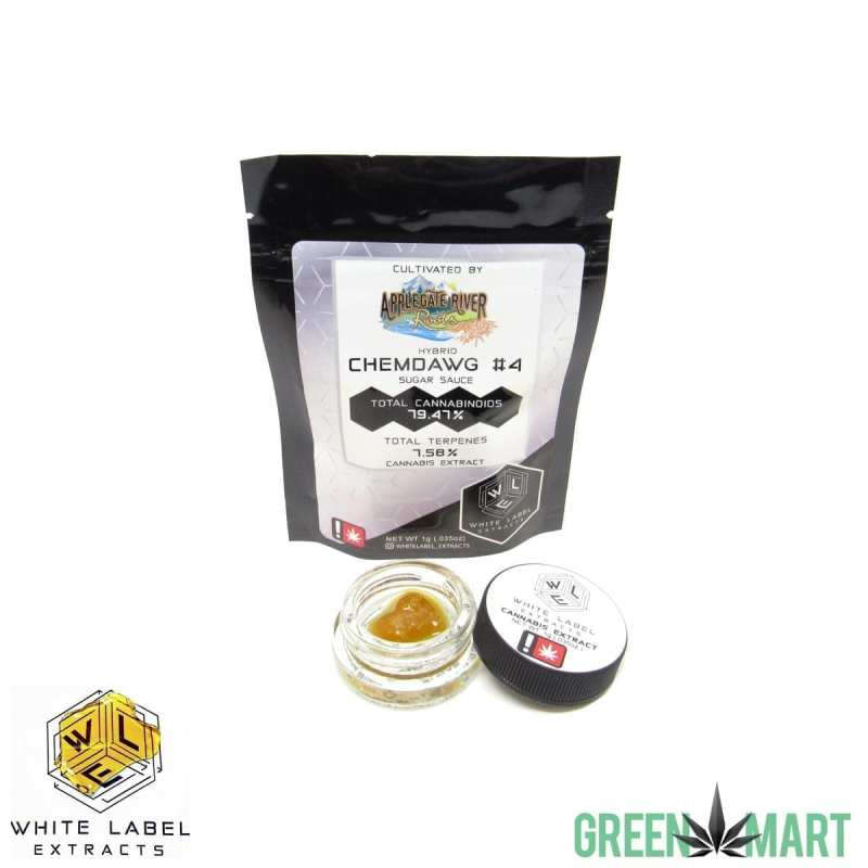 White Label Extracts - ChemDawg4