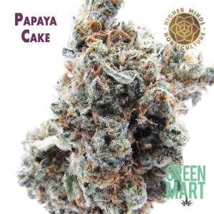 Papaya Cake by Higher Minds Horticulture