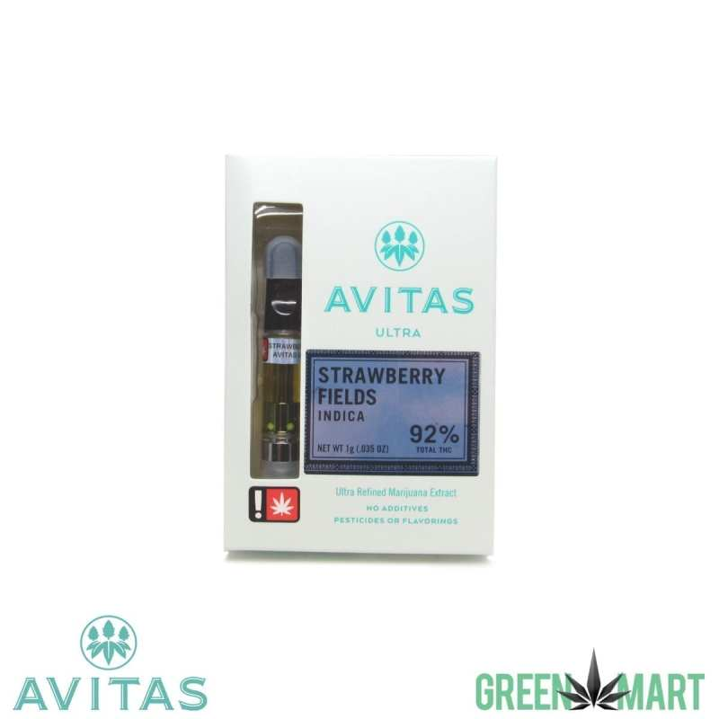 Avitas Ultra Distillate Cartridges - Strawberry Fields