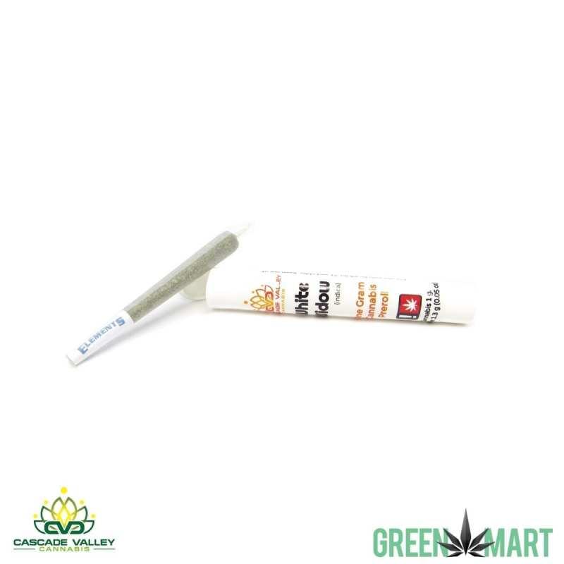 Cascade Vaally Cannabis 1g Pre-roll - White Widow