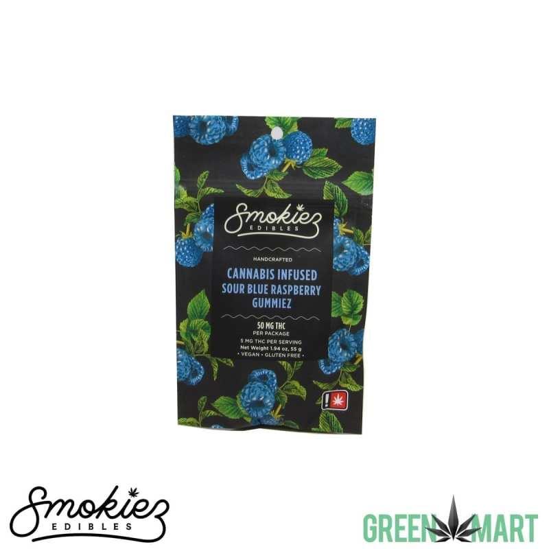 Smokiez Edibles Gummiez - Sour Blue Raspberry