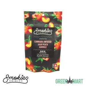 Smokiez Edibles THC Gummiez - Sour Peach Front