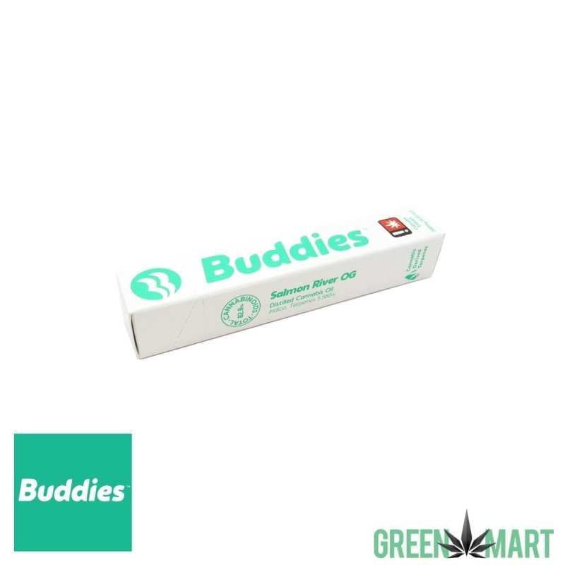 Buddies Disposable Vape Pen - Salmon River OG