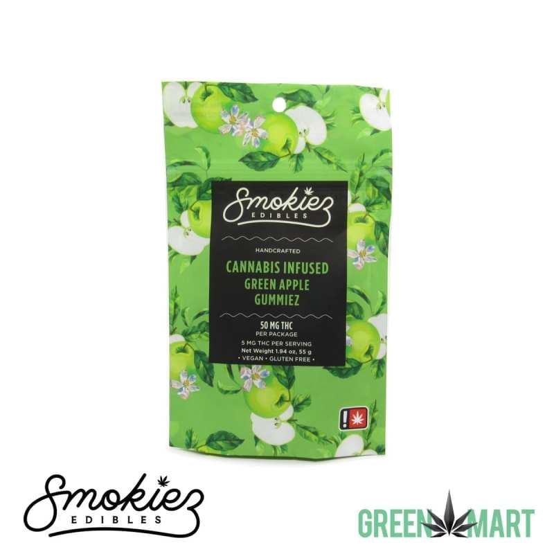 Smokiez THC Gummiez - Green Apple