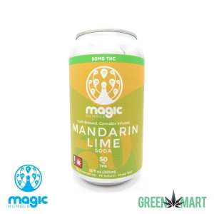 Magic Number Mandarin Lime THC Soda - Front