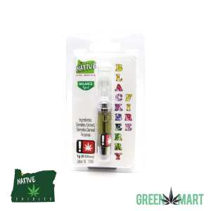 Native Extracts Cartridges - Blackberry Fire