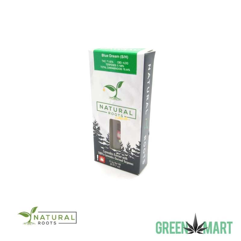 Natural Roots Extracts Cartridge - Blue Dream Half Gram