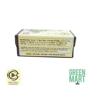 Crop Circle Chocolate Mint Truffle Nutrition Facts