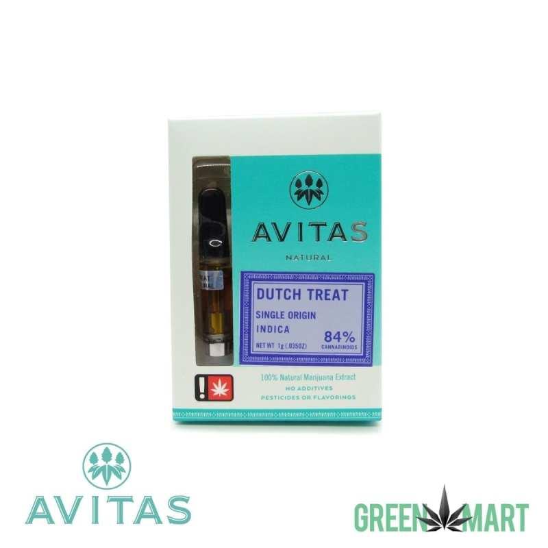 Avitas Natural Cartridge - Dutch Treat Full Gram