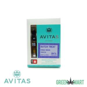 Avitas Natural Cartridge - Dutch Treat Full Gram