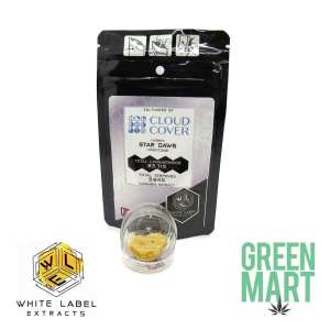 White Label Extracts - Stardawg Honeycomb Front