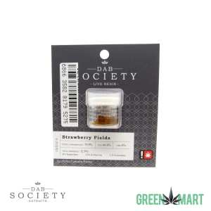 Dab Society Live Resin - Strawberry Fields