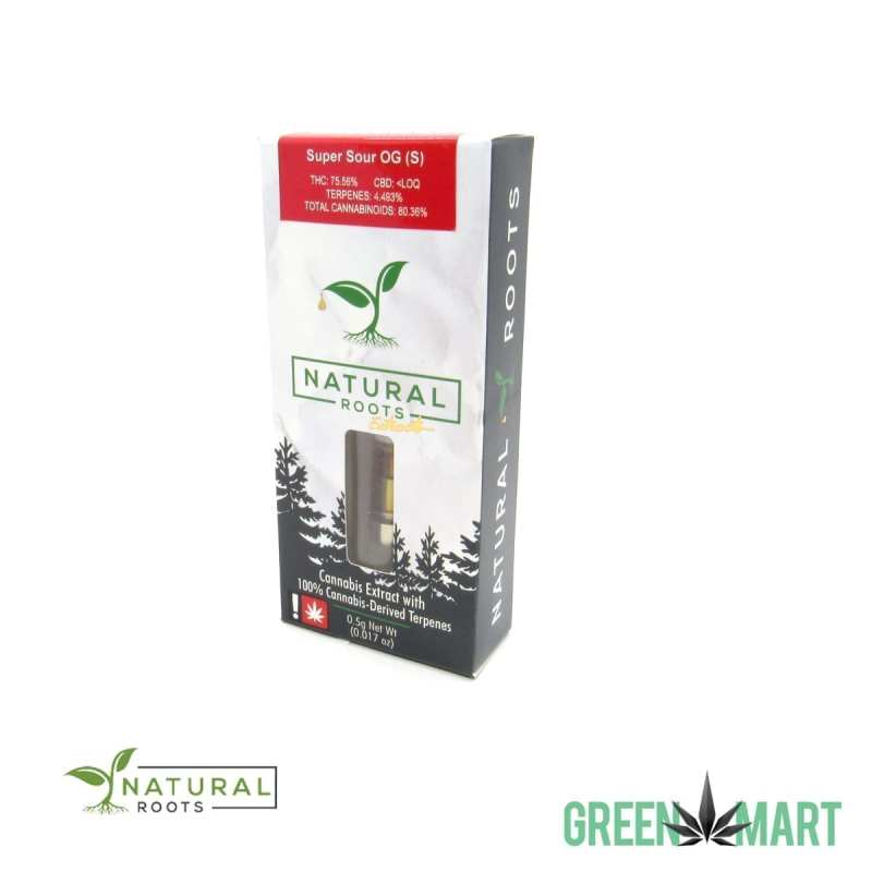 Natural Roots Extracts Cartridge - Super Sour OG