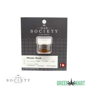 Dab Society Live Resin - Obama Kush