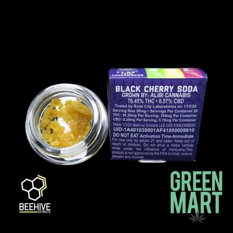 Beehive Extracts - Black Cherry Soda Back
