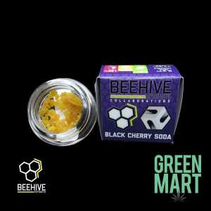 Beehive Extracts - Black Cherry Soda Front