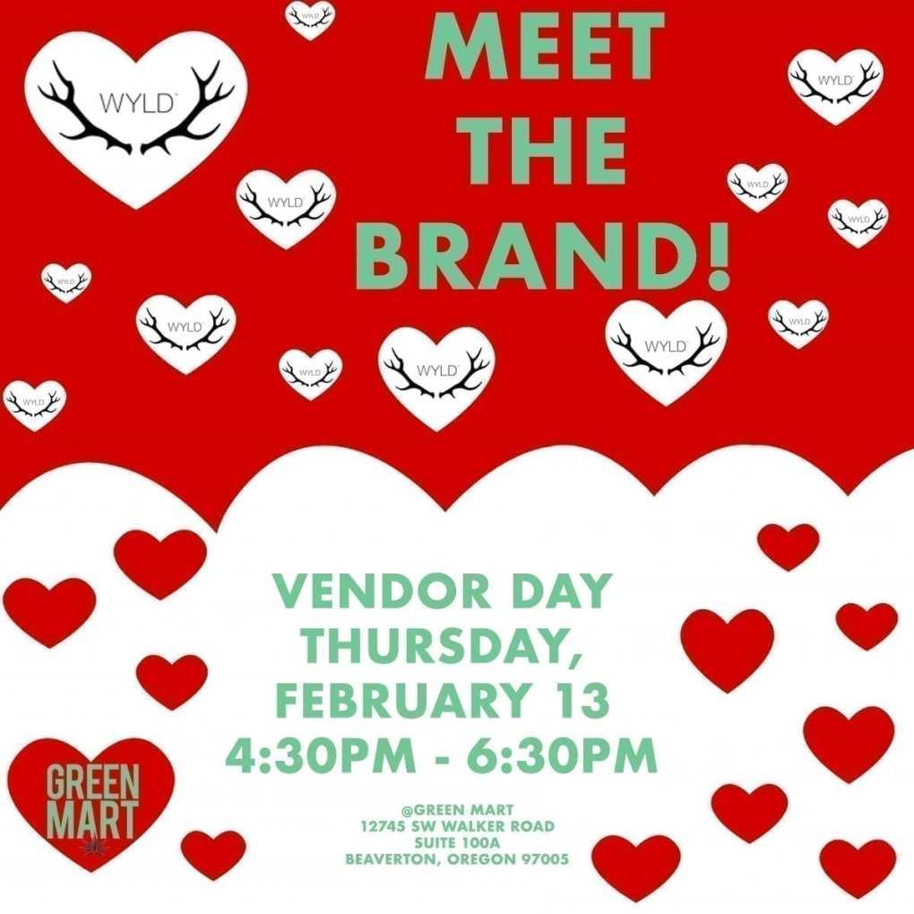 Wyld Vendor Day Valentine's Themed